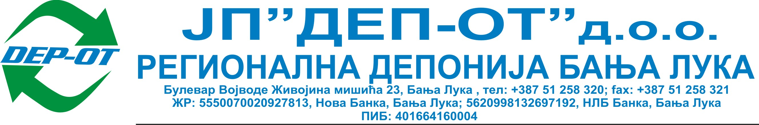 "J.P.""DEP-OT"" Banja Luka"